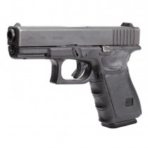 GLOCK 19, 23, 32, 38 (Gen 3): Wrapter Adhesive Grip - Black Rubber