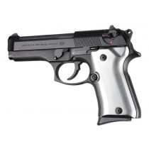 Beretta 92 Compact Aluminum - Brushed Gloss Clear Anodize