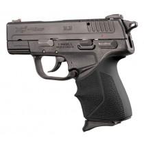 HandALL Beavertail Grip Sleeve: Springfield Armory XD-E 9mm/.45ACP - Black