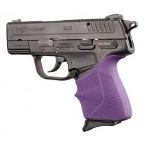 Springfield Armory XD-E 9mm/.45ACP: Purple HandALL Beavertail Grip Sleeve