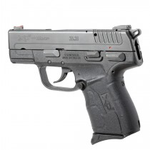 Springfield Armory XD-E 9mm / .45 ACP: Wrapter Adhesive Grip - Black Rubber