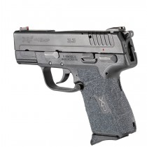 Springfield Armory XD-E 9mm / .45 ACP: Wrapter Adhesive Grip - Black Grit