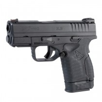 Springfield Armory XD-S 9mm / .40 S&W / .45 ACP: Wrapter Adhesive Grip - Black Rubber