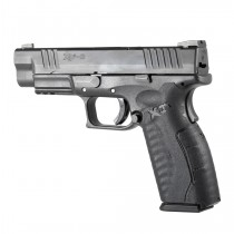 Springfield Armory XD-M Full Size 9mm / .357 SIG / .40 S&W: Wrapter Adhesive Grip - Black Rubber