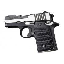SIG Sauer P938 Ambi Piranha Grip G10 - Solid Black