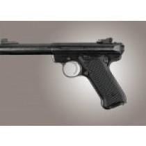 Ruger MK II / MK III Piranha Grip G10 - Solid Black