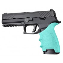 HandAll Beavertail Grip Sleeve Sig Sauer P320 Full Size Aqua