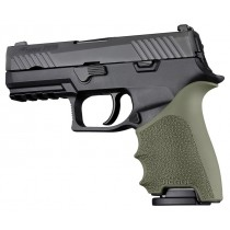HandAll Beavertail Grip Sleeve Sig Sauer P320 Compact OD Green