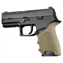 HandAll Beavertail Grip Sleeve Sig Sauer P320 Compact Flat Dark Earth