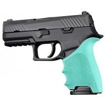 HandAll Beavertail Grip Sleeve Sig Sauer P320 Compact Aqua