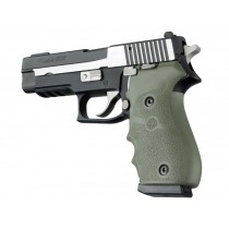 SIG Sauer P220 American Rubber W/ Finger Grooves OD Green