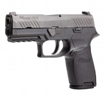 SIG SAUER P320 Compact (Medium Grip Module): Wrapter Adhesive Grip - Black Rubber