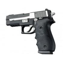 SIG Sauer P220 American Rubber W/ Finger Grooves Black