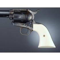 Colt Single Action White Micarta Cowboy Panels