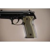 Beretta Cougar 8045 Aluminum - Matte Green Anodize