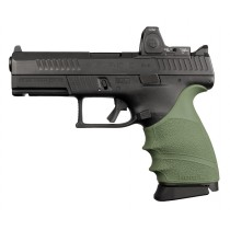 CZ P-10 C: HandALL Beavertail Grip Sleeve - OD Green