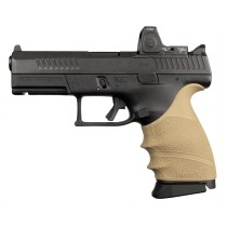 CZ P-10 C: HandALL Beavertail Grip Sleeve - FDE