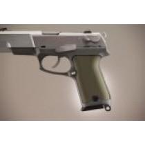 Ruger P85 - P91 Aluminum - Matte Green Anodize