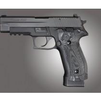 SIG Sauer P226 DA/SA Magrip Checkered G10 - G-Mascus Black