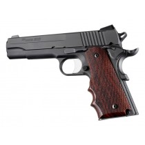 1911 Govt. Model Cocobolo With Finger Grooves Checkered