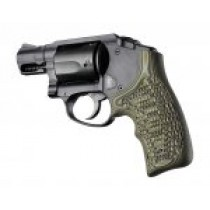 S&W Body Bantam Finger Groove Piranha Grip G10 - G-Mascus Green