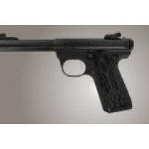 Ruger MK III 22/45 RP Flames Aluminum - Black Anodize