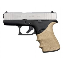 GLOCK 43X, 48: HandALL Beavertail Grip Sleeve - FDE