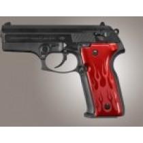Beretta Cougar 8045 Flames Aluminum - Red Anodize