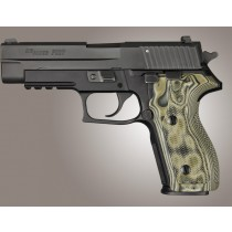 SIG Sauer P227 DA/SA Checkered G10 - G-Mascus Green