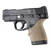 HandAll Beavertail Grip Sleeve S&W M&P Shield 45, Kahr P9/P40/CW9/CW40 Flat Dark Earth