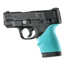 S&W M&P Shield 45 / Kahr P9, P40, CW9, CW40: HandALL Beavertail Grip Sleeve - Aqua