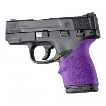 S&W M&P Shield 45 / Kahr P9, P40, CW9, CW40: HandALL Beavertail Grip Sleeve - Purple