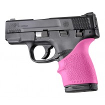 S&W M&P Shield 45 / Kahr P9, P40, CW9, CW40: HandALL Beavertail Grip Sleeve - Pink