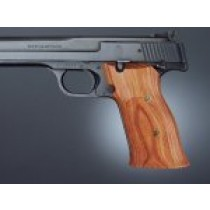 S&W 41 Tulipwood Checkered