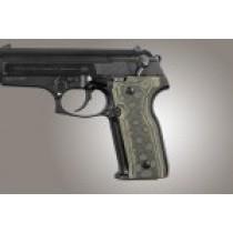 Beretta Cougar 8000 - 8040 - 8357  Checkered G10 - G-Mascus Green