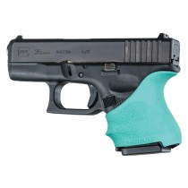 GLOCK 26, 27: HandALL Beavertail Grip Sleeve - Aqua