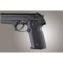 Beretta Cougar 8045  Checkered G10 - Black