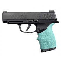 SIG SAUER P365 XL: HandALL Beavertail Grip Sleeve - Aqua