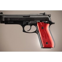 Taurus PT-99 PT-92 PT-100 PT-101 With Decocker Flames Aluminum - Red Anodize