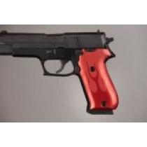 SIG Sauer P220 DA/SA American Flames Aluminum - Red Anodize