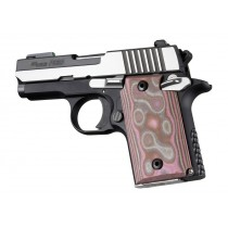 SIG Sauer P938 Ambi Smooth G-Mascus Pink Lava G10