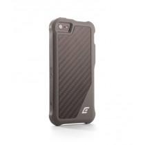 HEC iPhone 5 - ION 5 Black Ops - Grey TPU Cover w/Matte Carbon Fiber