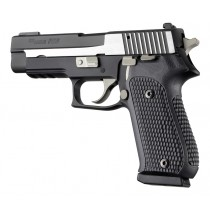 SIG Sauer P220 American Piranha Grip G10 - Solid Black