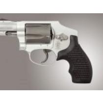 S&W J Frame Round Butt Bantam Piranha Grip G10 - Solid Black