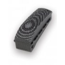 1911 Govt. G10 Mainspring Housing Checkered Arched G-Mascus Black/Gray