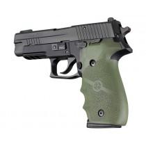 SIG SAUER P226 Rubber W/ Finger Grooves OD Green