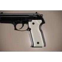 Beretta Cougar 8045 Aluminum - Matte Clear Anodize