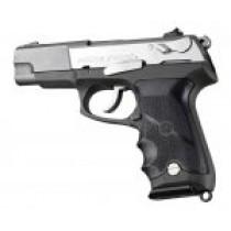 Ruger P85 - P91 Rubber grip with Finger Grooves Black