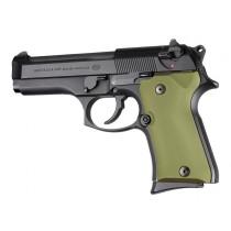 Beretta 92 Compact Aluminum - Matte Green Anodize