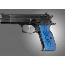 TZ-75 - EAA. P9 Tribal Aluminum - Blue Anodize